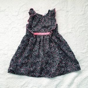 Pink Black and White 3T Dress